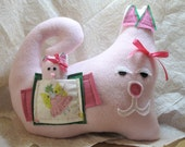 Pink Kitties with Fairy: Reserve Item for Gina F.