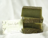The Happy Gardener Handcrafted Soap Green Botanical Gift for Him or Her British Etsy Team