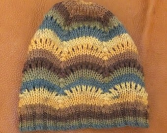 Scallop Knitted Hat