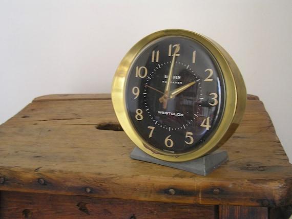 Vintage Alarm Clock - Working - Big Ben Repeater, Westclox, Scotland