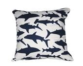 Handmade Shark Pillow / Cushion