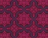 Joel Dewberry Fabric- Heirloom Collection - Tile Flourish - Garnet