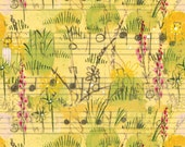 Beauty Is You Collection - Dancing Meadow in Yellow by Cori Dantini for Blend Fabrics