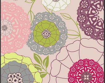 Art Gallery Fabric - Patricia Bravo -Modernology Collection - Avant Garden in Blush