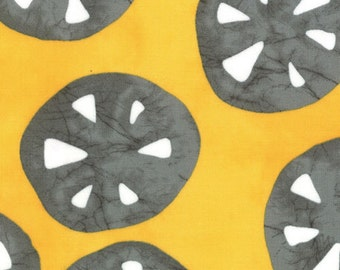 CLEARANCE - Metro Dot Sand Dollar Golden Yellow -A Stitch in Time by Malka Dubrawsky for Moda Fabrics