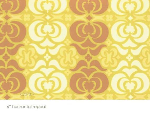 CLEARANCE - Amy Butler Fabric- Midwest Modern - Garden Maze- Mustard