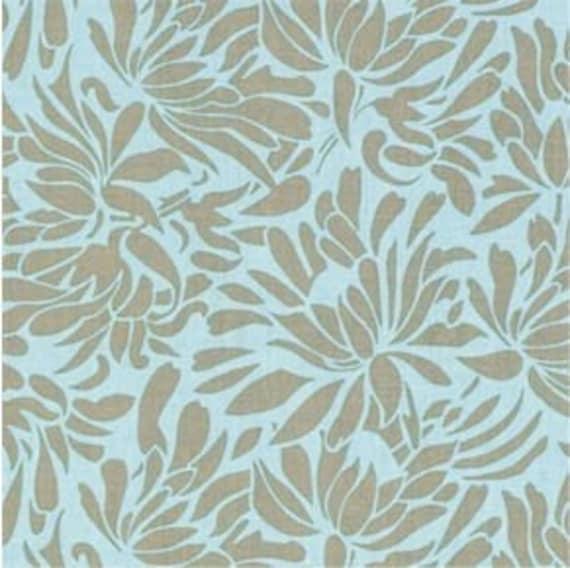 Amy Butler Fabric- Daisy Chain Collection - Daisy Bouquet- Mist