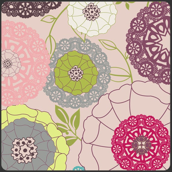 Art Gallery Fabric - Patricia Bravo Fabric -Modernology Collection - Avant Garden in Blush