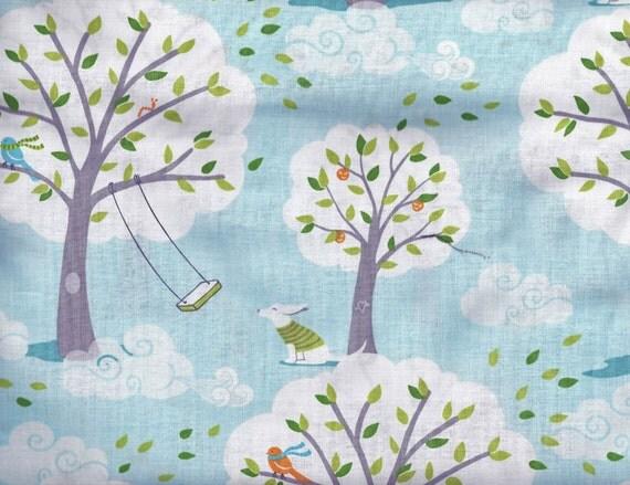 michael miller fabric backyard baby by belloberryfabricshop