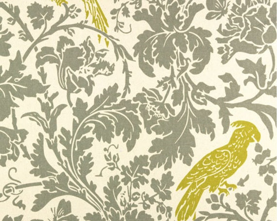 Premier Prints Fabric- Barber Collection - Barber in Summerland/Natural - Home Decor Fabric