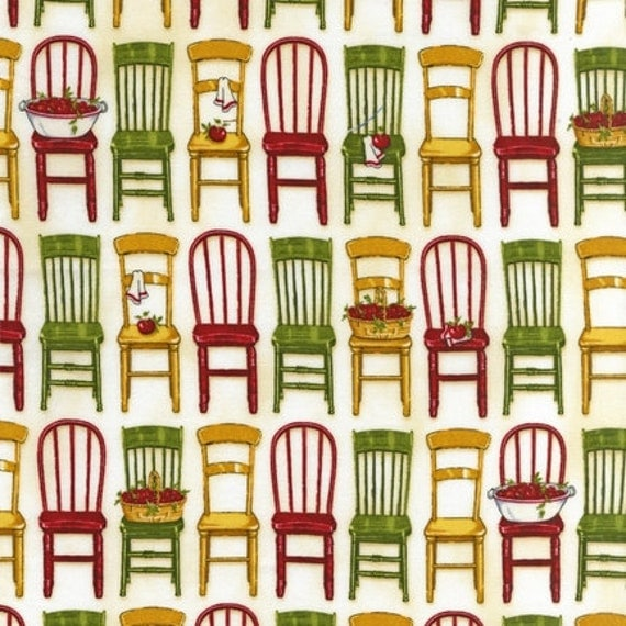 Kitchen Chairs For Cooking: Kiss The Cook Wood Kitchen Chairs Vintage Mary Thompson