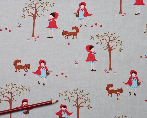NEW - A Walk in the Woods Collection by Aneela Hoey for Moda Fabrics -  Girl in the Woods - Cloud Grey