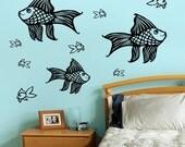 Goldfish Vinyl Wall Decal