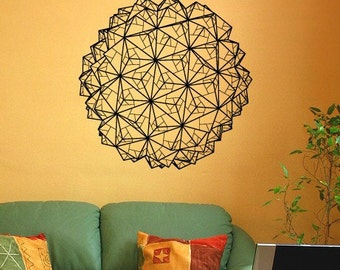 Geometric Origami Vinyl Wall Decal