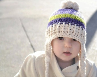girls winter hat, baby girls hat, girls hat, newborn girl hat, crochet kids hat, hat for girls, crochet hat for girls, baby hat, baby girl