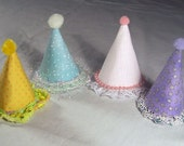 Mini Party Hats for Dolls and Bears 2