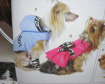 McCalls 6218  Little Dog Clothes