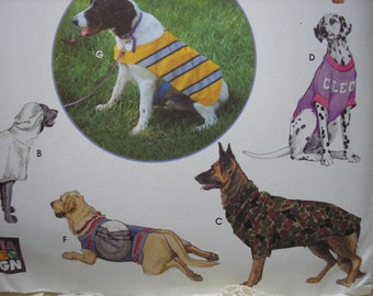 Simplicity 1578 Large Dog Clothes