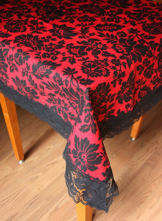 Black And Red Tablecloth Pictures to Pin on Pinterest - ThePinsta