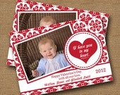 Valentine Photo Card   DIY PRINTABLE   Religious, Scripture, Bible Verse Valentine   (Choose Your Background, Verse, and Color)