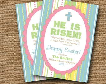 He is risen card Etsy