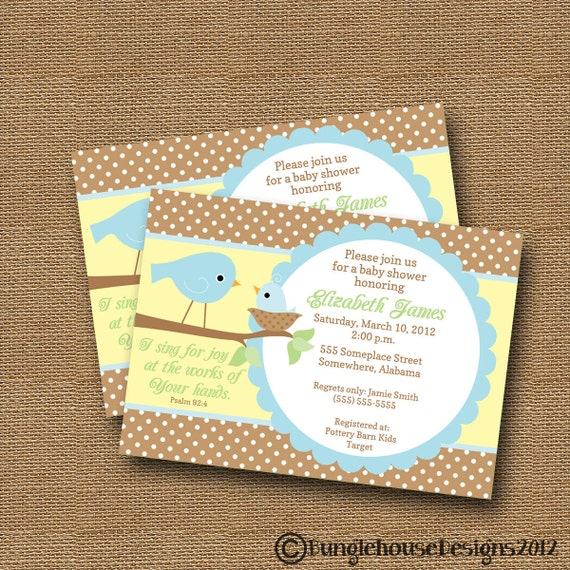 shower invitation diy printable baby boy christian scripture bible