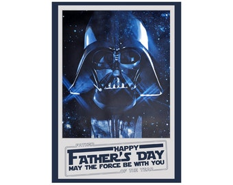 Darth Vader Father's Day Card-pdf