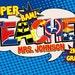 Super Teacher Poster- Digital File