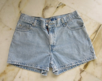 70's Levi  Cool Blue Denim Shorts