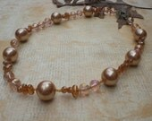 Necklace - Just Peachy