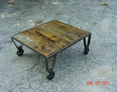 Antique Pallet Coffee/Cocktail Table