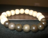 Men's Wooden Beaded Bracelet