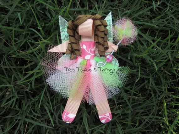 Custom Fairy hair clip