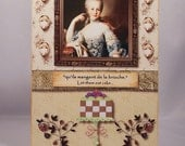 Marie Antoinette Birthday Card