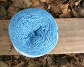 Aegean Blue 2/18 Zephyr Wool/Silk Yarn