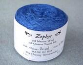 Royal 2/18 Zephyr Wool/Silk Yarn