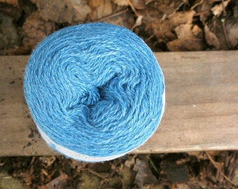 Aegean Blue 2/18 Zephyr Wool/Silk Yarn