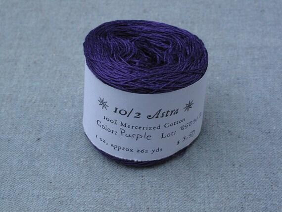 Purple 10/2 Mercerized Cotton