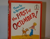 Please Try to Remember the First of Octember by Theo. LeSieg 1978 Hardcover