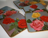 Win El Ware Classic Rose Square Placemats