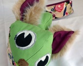 Music monster green wolfie