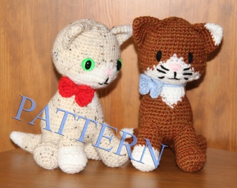 Crochet cat - Pattern in PDF