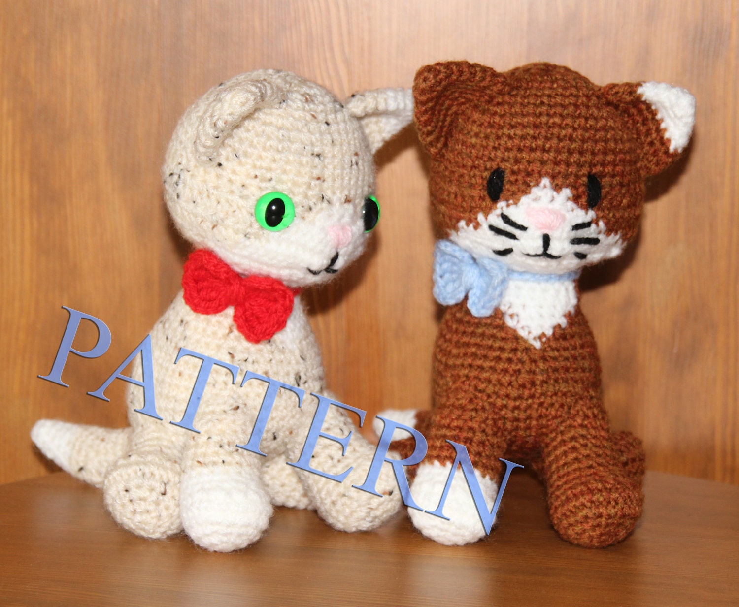 Crochet cat Pattern in PDF