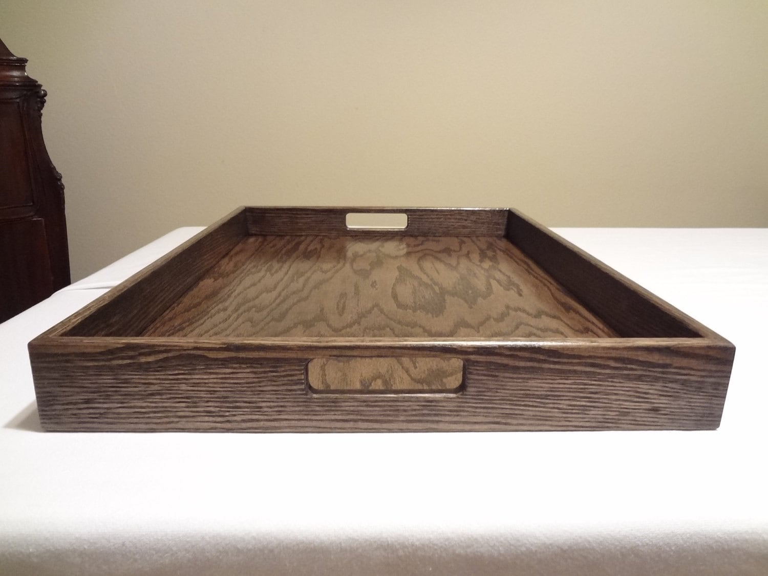 Custom Ottoman Serving Tray 18 X 24choose Your Wood By