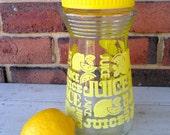 Yellow Juice Carafe