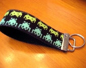 READY TO SHIP Alien Invaders Key Fob