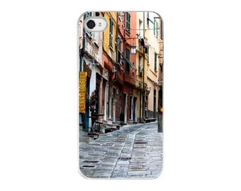 iPhone 5 Case iPhone 4 Case - Travel Image Case - Streets of Italy Plastic Gifts for Her Cell Phone Case