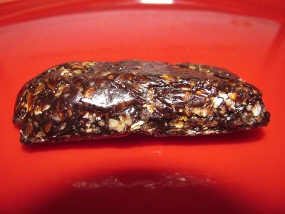 Nosh-A-Whey  All Natural Homemade Protein Bars  Chocolate Peanut Butter, 1 dozen