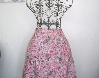 Aline Floral and Paisley Skirt