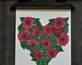 Gardens of Love single card